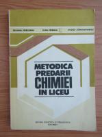 Ortansa Petrovanu - Metodica predarii chimiei in liceu