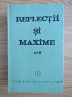 Anticariat: Reflectii si maxime (volumul 2)