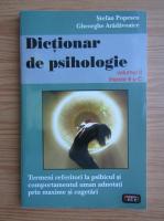 Anticariat: Stefan Popescu - Dictionar de psihologie (volumul 2, literele B si C)