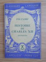Anticariat: Voltaire - Histoire de Charles XII (1934)