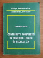 Anticariat: Alexandru Surdu - Contributii romanesti in domeniul logicii in secolul XX