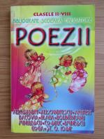Bibliografie scolara obligatorie. Poezii. Clasele II-VIII