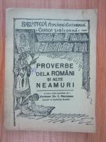 Camil Muresan - Proverbe dela romani si alte neamuri (1935)