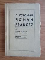 Anticariat: Constantin Saineanu - Dictionar roman francez (1920)