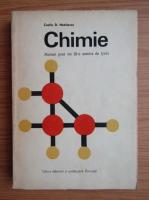 Anticariat: Costin D. Nenitescu - Chimie. Manuel pour les III-e annees du lycee (1973)