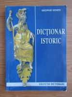 Anticariat: George Genes - Dictionar istoric