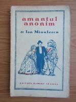 Anticariat: Ion Minulescu - Amantul anonim (1928)