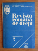Anticariat: Revista romana de drept, anul XL, nr. 2, 1984