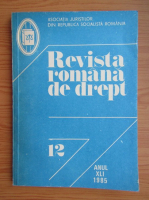 Anticariat: Revista romana de drept, anul XLI, nr. 12, 1985