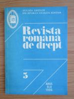 Anticariat: Revista romana de drept, anul XLII, nr. 5, 1986
