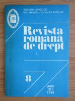 Anticariat: Revista romana de drept, anul XLII, nr. 8, 1986