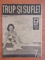 Anticariat: Revista Trup si suflet, nr. 67, iulie 1937