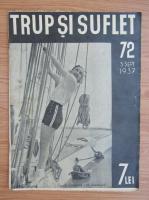Anticariat: Revista Trup si suflet, nr. 72, septembrie 1937