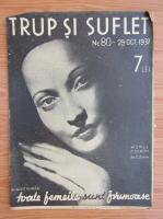 Anticariat: Revista Trup si suflet, nr. 80, octombrie 1937