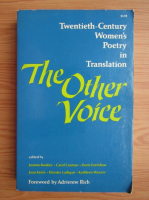 The other voice. Twentieth-century women's poetry in translation