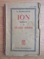 Anticariat: Liviu Rebreanu - Ion (volumul 2, 1921)