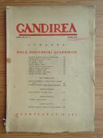 Revista Gandirea, anul XX, nr. 6, iunie 1941