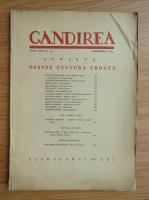 Revista Gandirea, anul XXII, nr. 10, decembrie 1943