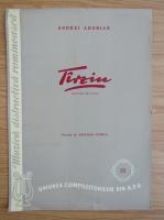 Anticariat: Andrei Adorian - Tarziu