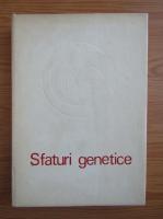 Anticariat: C. Maximilian - Sfaturi genetice