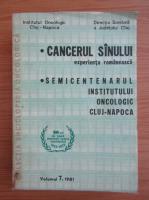 Anticariat: Cancerul sanului. Experienta romanesca (volumul 7)