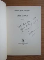 Anticariat: George Virgil Stoenescu - Casa a noua (cu autograful si dedicatia autorului pentru Vlaicu Barna)