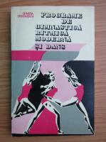 Anticariat: Gineta Stoenescu - Programe de gimnastica ritmica moderna si dans