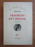 Anticariat: Mircea Eliade - Fragments d'un journal