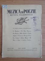 Anticariat: Muzica si Poezie, anul I, nr. 9-10, 1936