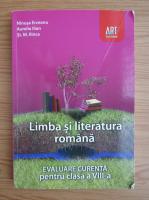 Anticariat: Ninusa Erceanu - Limba si literatura romana. Evaluare curenta pentru clasa a VIII-a
