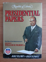 Anticariat: Presidential papers