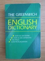 Anticariat: The Greenwich english dictionary