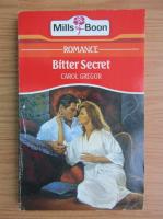 Carol Gregor - Bitter secret