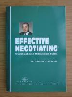 Anticariat: Chester Karrass - Effective negotiating