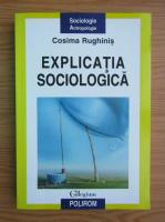 Anticariat: Cosima Rughinis - Explicatia sociologica