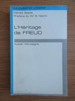 Denise Saada - L'Heritage de Freud