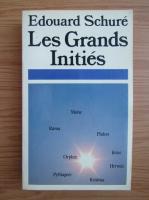 Anticariat: Edouard Schure - Les grands inities