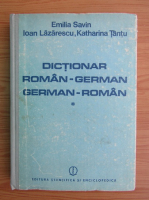 Anticariat: Emilia Savin - Dictionar roman-german, german-roman (volumul 1)