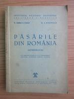 Anticariat: George Vasiliu - Pasarile din Romania (1940)