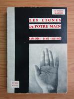 Anticariat: Henri Mangin - Les lignes de votre main
