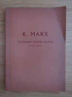Anticariat: Karl Marx - Insemnari despre romini