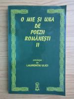 Laurentiu Ulici - O mie si una de poezii romanesti (volumul 2)