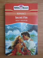 Violet Winspear - Secret fire