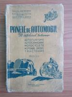 Anticariat: Virgil Coman - Panele de automobil pe intelesul tuturor (1949)