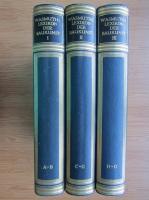 Anticariat: Wasmuths lexikon der baukunst (3 volume, 1929)