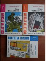 Thomas Mann - Casa Buddenbrook (3 volume)