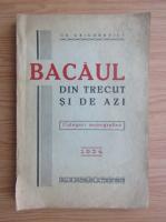 Bacaul din trecut si de azi. Culegeri monografice (1933)