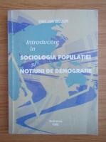 Anticariat: Emilian Bujor - Introducere in sociologia populatiei si notiuni de demografie