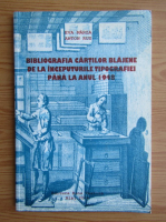 Eva Marza - Bibliografia cartilor blajene de la inceputurile tipografiei pana la anul 1948