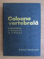 Anticariat: H. Klepp, N. Diaconescu - Coloana vertebrala